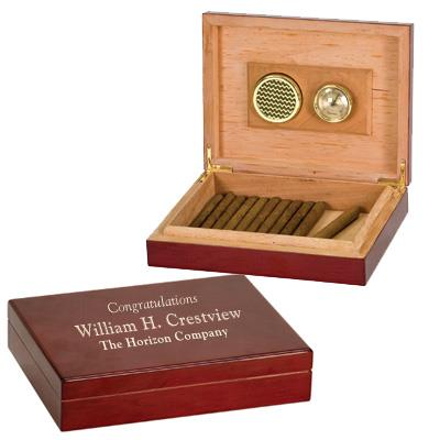 Personalized Spanish Cedar Humidor