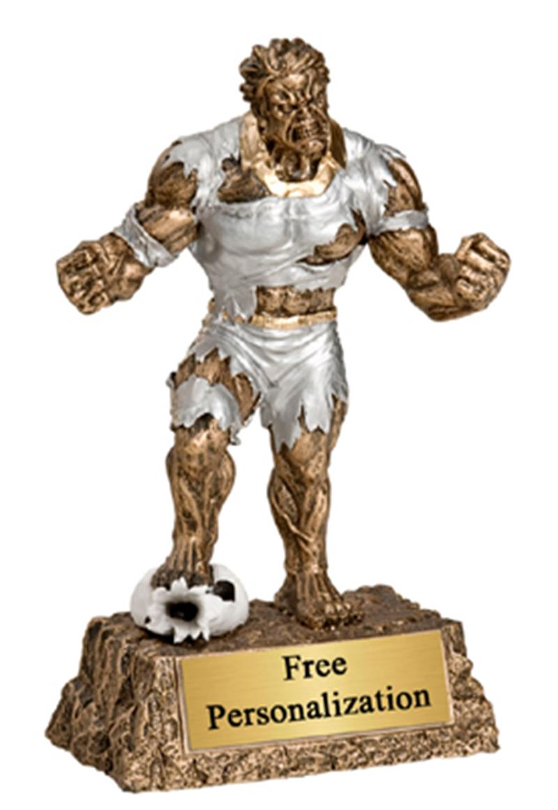 Monster Soccer Trophy
