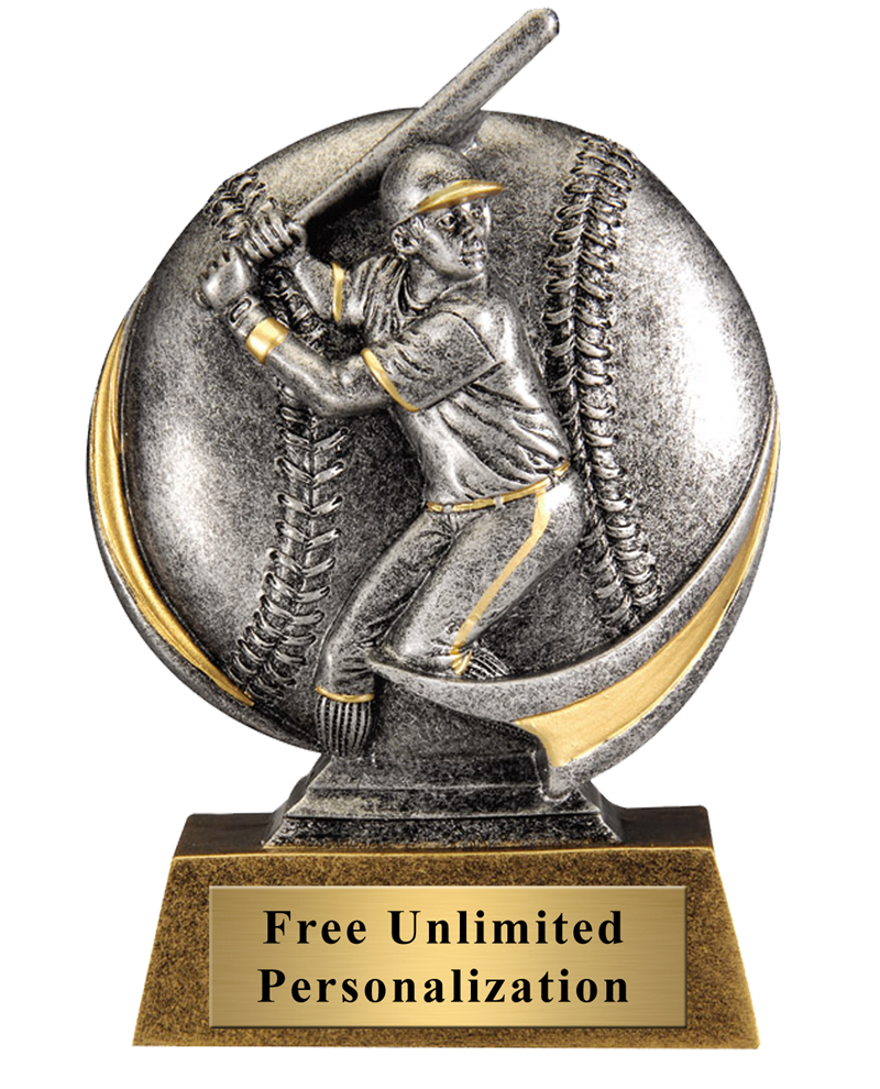 Baseball Motion Extreme Trophy