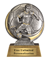 Soccer Motion Extreme Trophy - Female