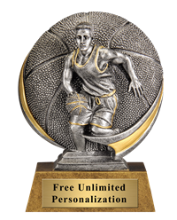 Basketball Motion Extreme Trophy - Male