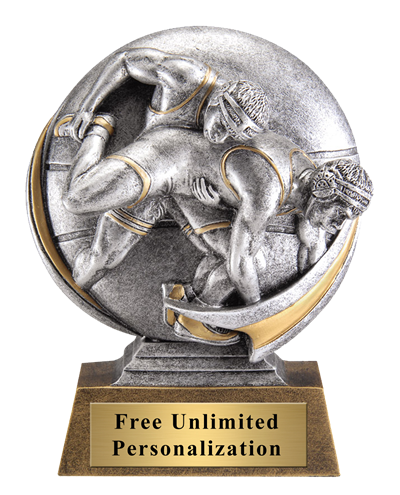 Wrestling Motion Extreme Trophy