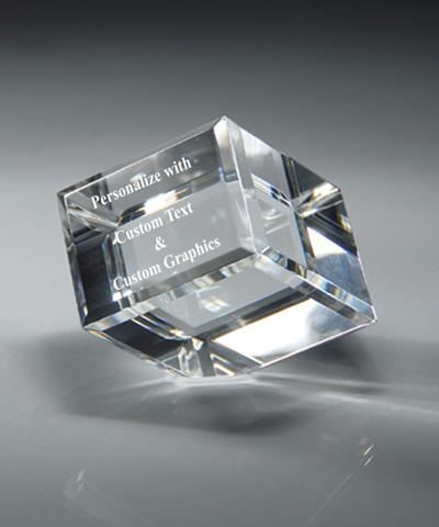Cube Crystal Award