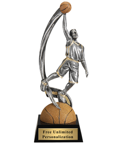 Motion Extreme Basketball Trophy - Male