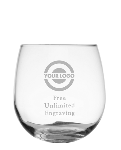 Stemless Red Wine Glass by Libbey