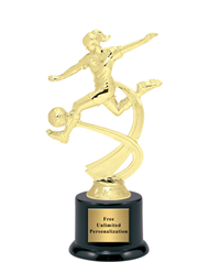 Motion Soccer Trophy - Female