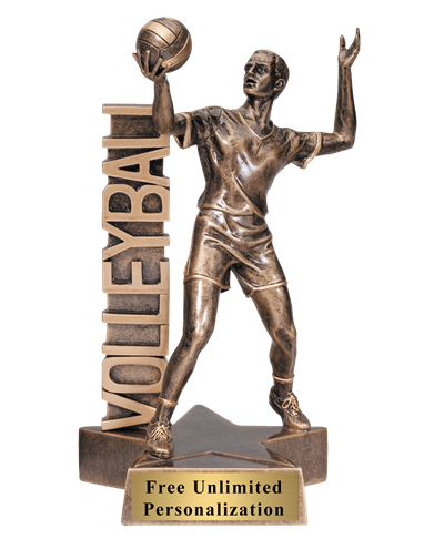 Billboard Volleyball Trophy - Male