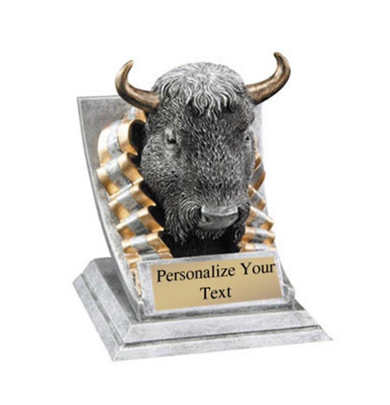 Buffalo Spirit Mascot Trophy