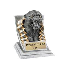 Panther Spirit Mascot Trophy