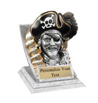 Pirate Spirit Mascot Trophy
