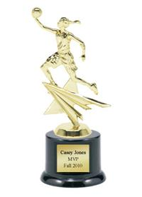 Shining Star Basketball Trophy - Female