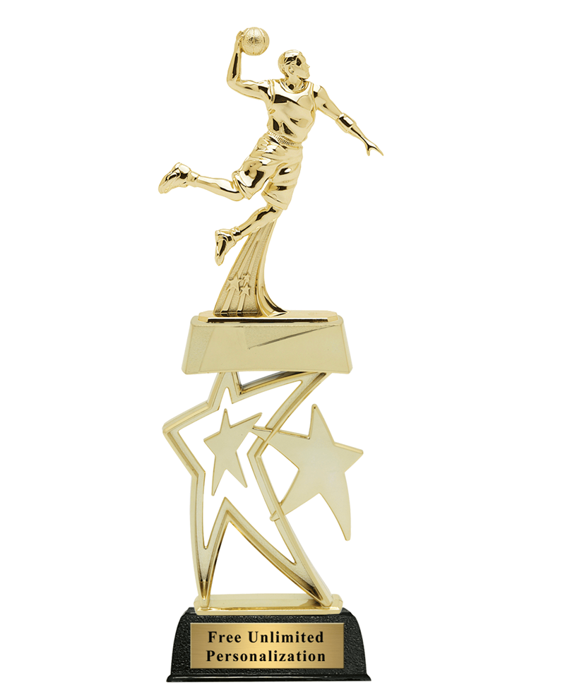 Star Basketball Trophy - Male