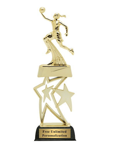 Star Basketball Trophy - Female