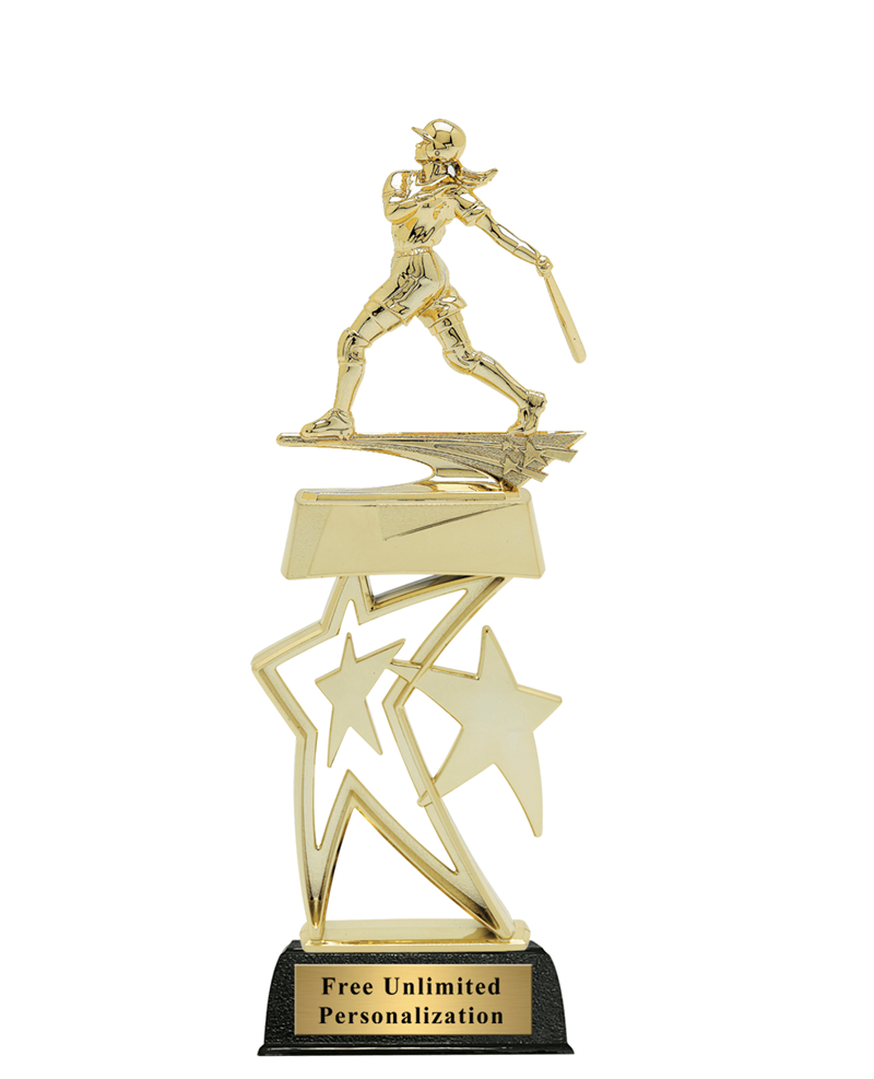Star Softball Trophy - Female