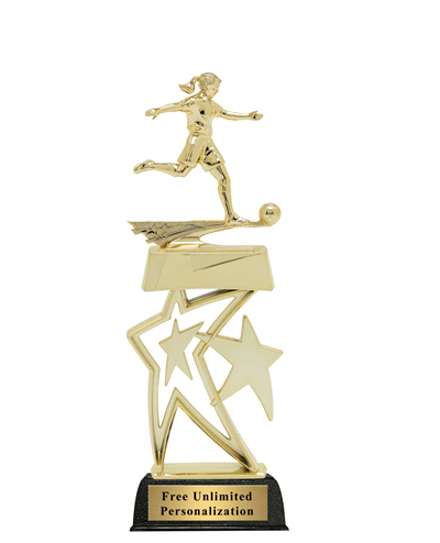 Star Soccer Trophy - Male