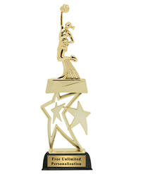Star Cheerleading Trophy