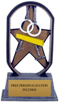 Color Starz Gymnastics Trophy