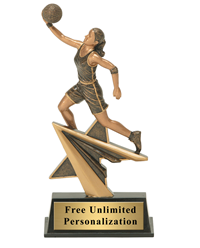 Star Power Basketball Trophy - Female