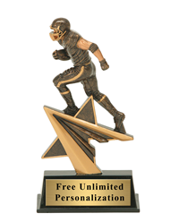 Star Power Football Trophy