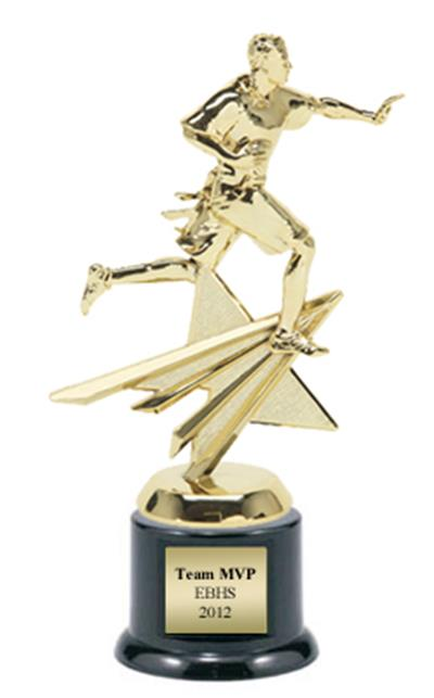 Shining Star Flag Football Trophy
