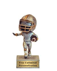 Bobblehead Football Trophy
