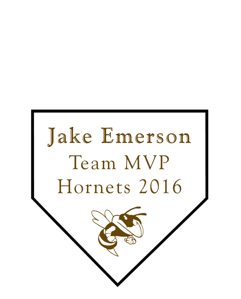 Personal Home Plate Plaque