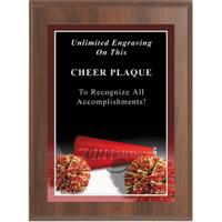 Sport Photo Cheerleading Plaque