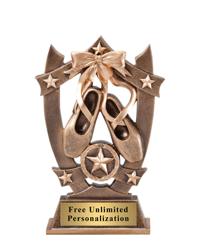 Star Shield Ballet Trophy