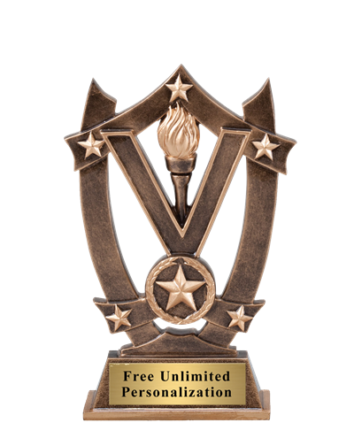 Star Shield Victory Trophy