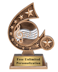 Star Comet Music Trophy