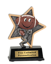 Little Pal Football Trophy