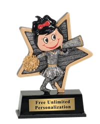 Little Gal Cheer Trophy