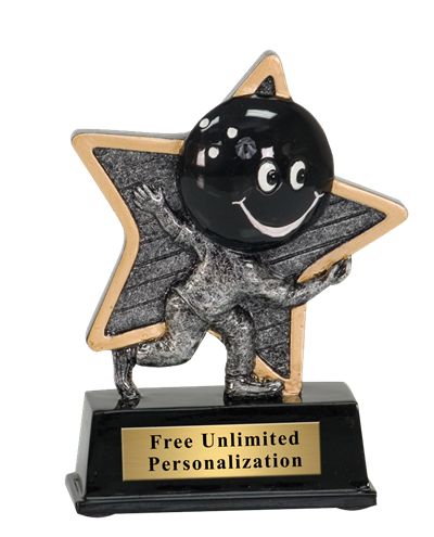 Little Pal Bowling Trophy