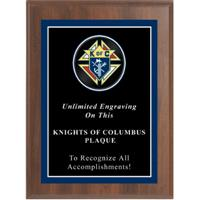Sport Photo Knights of Columbus Plaque
