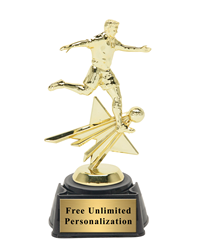 Star Action Soccer Award - Male
