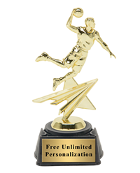 Star Action Basketball Award - Male
