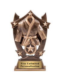 Star Shield Martial Arts Trophy