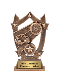 Star Shield Swimming Trophy