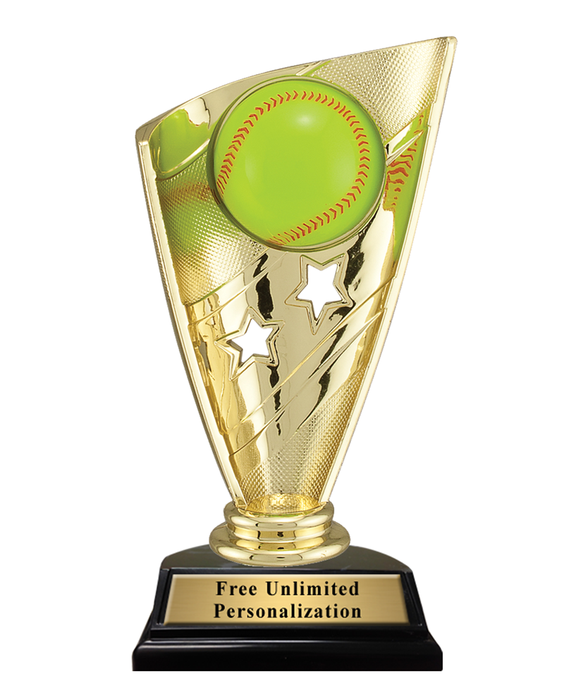 Star Banner Softball Trophy