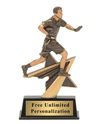 Star Power Flag Football Trophy