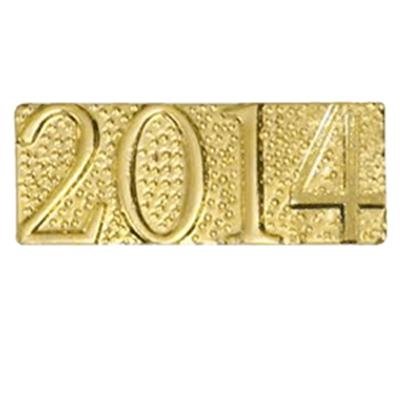 2014 Gold Chenille Pin
