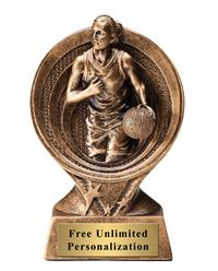 Saturn Basketball Female Trophy