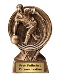 Saturn Bowling Male Trophy