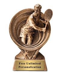 Saturn Tennis Male Trophy