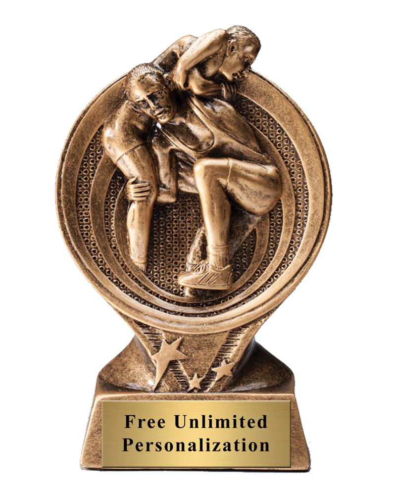 Saturn Wrestling Trophy