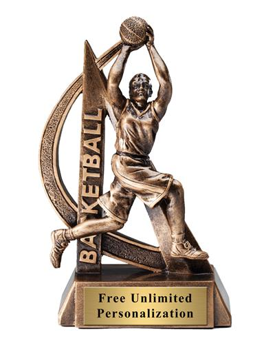 Ultra Action Basketball Female Trophy