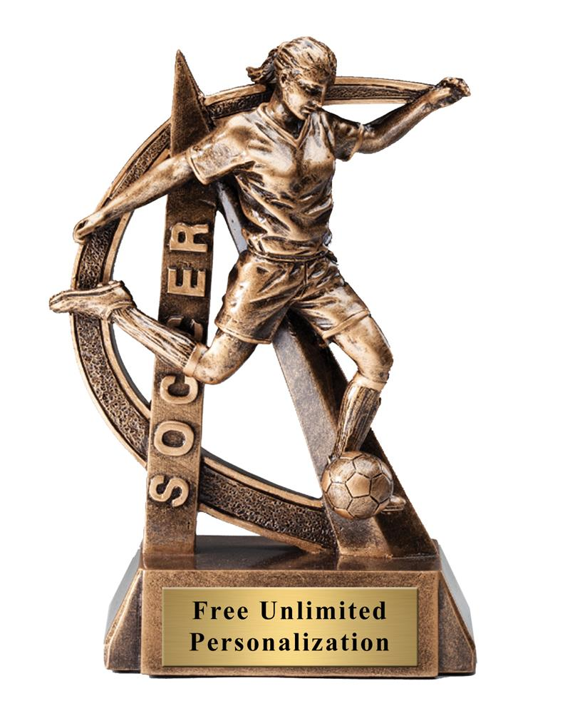 Ultra Action Soccer Female Trophy