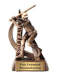 Ultra Action Softball Trophy