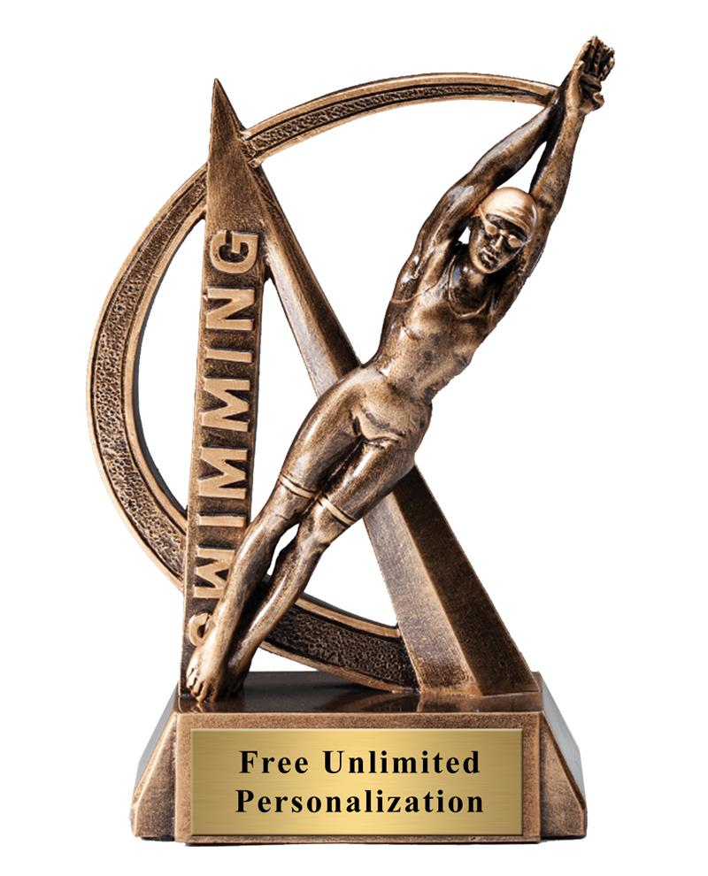 Ultra Action Swimming Female Trophy