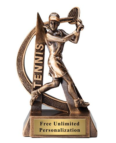 Ultra Action Tennis Female Trophy